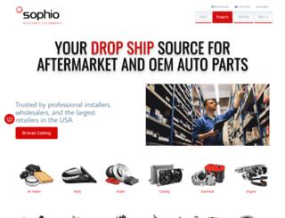 sophio.com screenshot