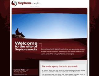 sophoramedia.com screenshot