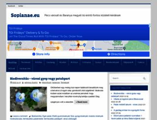 sopianae.eu screenshot