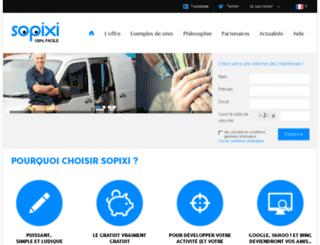 sopixi.fr screenshot