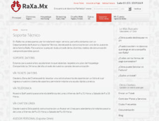 soporteraxa.com screenshot