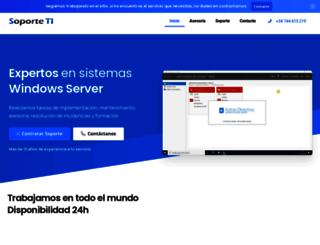 soporteti.net screenshot