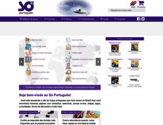 soportugues.com.br screenshot