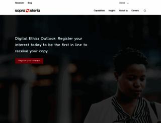 sopragroup.co.uk screenshot
