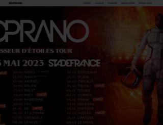 soprano-lesite.fr screenshot