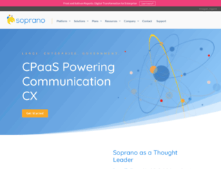 soprano.com.au screenshot