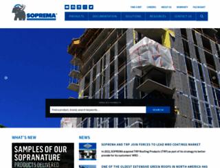 soprema.us screenshot