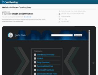 sorani.gazii.com screenshot