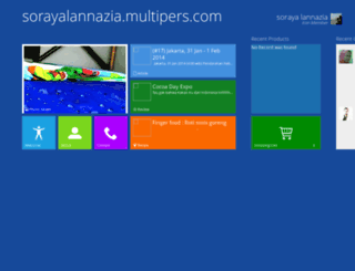 sorayalannazia.multipers.com screenshot