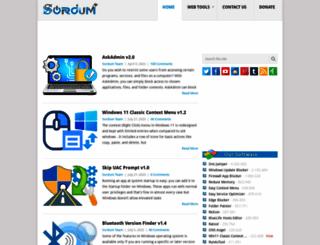 sordum.org screenshot