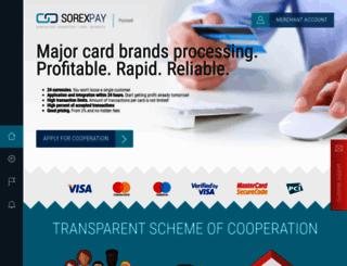 sorexpay.com screenshot