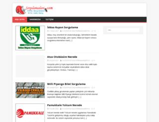 sorgulamaalani.com screenshot