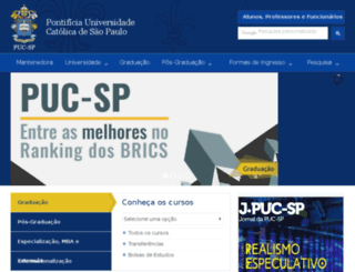 sorocaba.pucsp.br screenshot