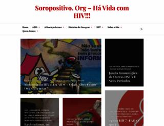 soropositivo.org screenshot