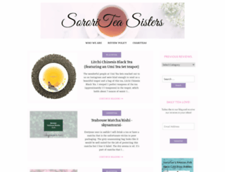 sororiteasisters.com screenshot