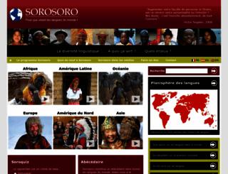 sorosoro.org screenshot