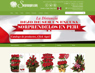 sorpresasperu.com screenshot