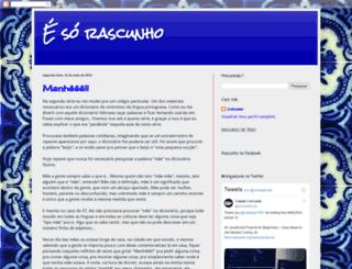 sorrascunho.blogspot.com.br screenshot