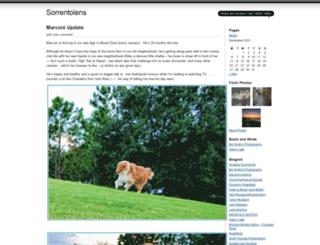 sorrentolens.wordpress.com screenshot