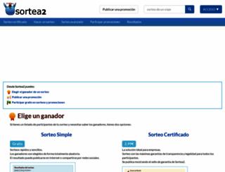 sortea2.com screenshot