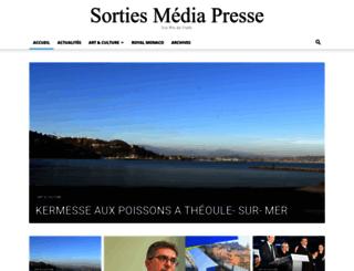 sortiesmediapresse.com screenshot