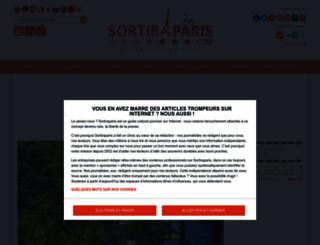 sortiraparis.com screenshot