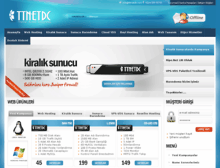 sorunsuzhosting.net screenshot