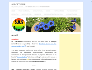 sos-detresse.org screenshot