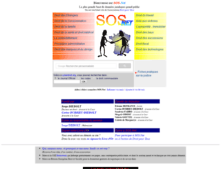 sos-net.eu.org screenshot