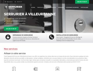 sos-serrurier-villeurbanne.fr screenshot