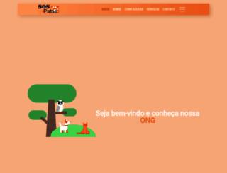 sos4patas.org.br screenshot