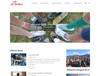 sosbambini.org screenshot