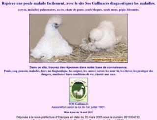 sosgali.org screenshot