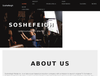 soshefeigh.com screenshot
