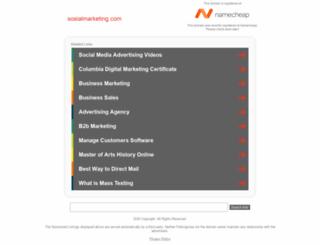 sosialmarketing.com screenshot