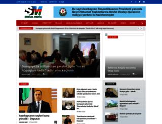 sosialmedia.az screenshot