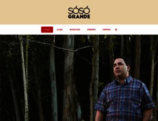sosogrande.com.br screenshot