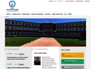 sosyalbilenst.cumhuriyet.edu.tr screenshot
