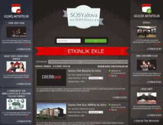 sosyalova.com screenshot