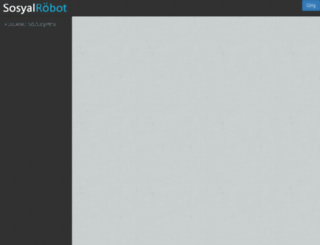 sosyalrobot.com screenshot
