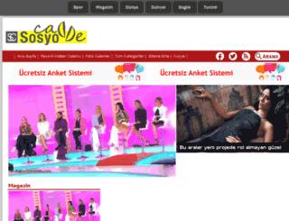 sosyocadde.com screenshot