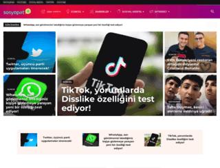 sosyopat.com.tr screenshot