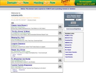 sotania.info screenshot