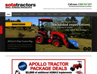 sotatractors.com screenshot