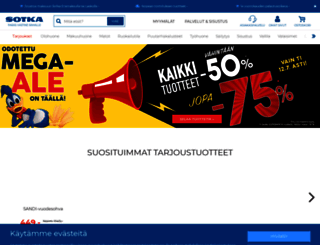 sotka.fi screenshot