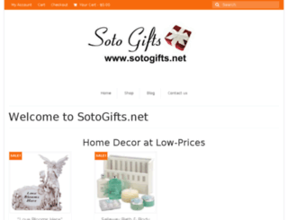 sotogifts.net screenshot