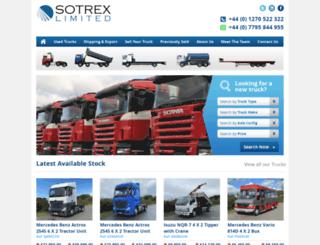 sotrex.com screenshot