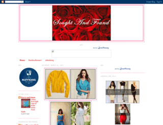 sought-and-found.blogspot.com screenshot