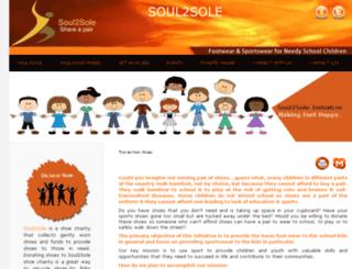 soul2sole.co.in screenshot