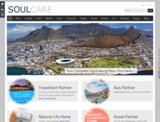soulcare.co.za screenshot